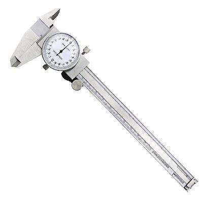 Metric Gauge Dial Caliper 0-150mm 0.02mm Shock-proof Vernier Inspection