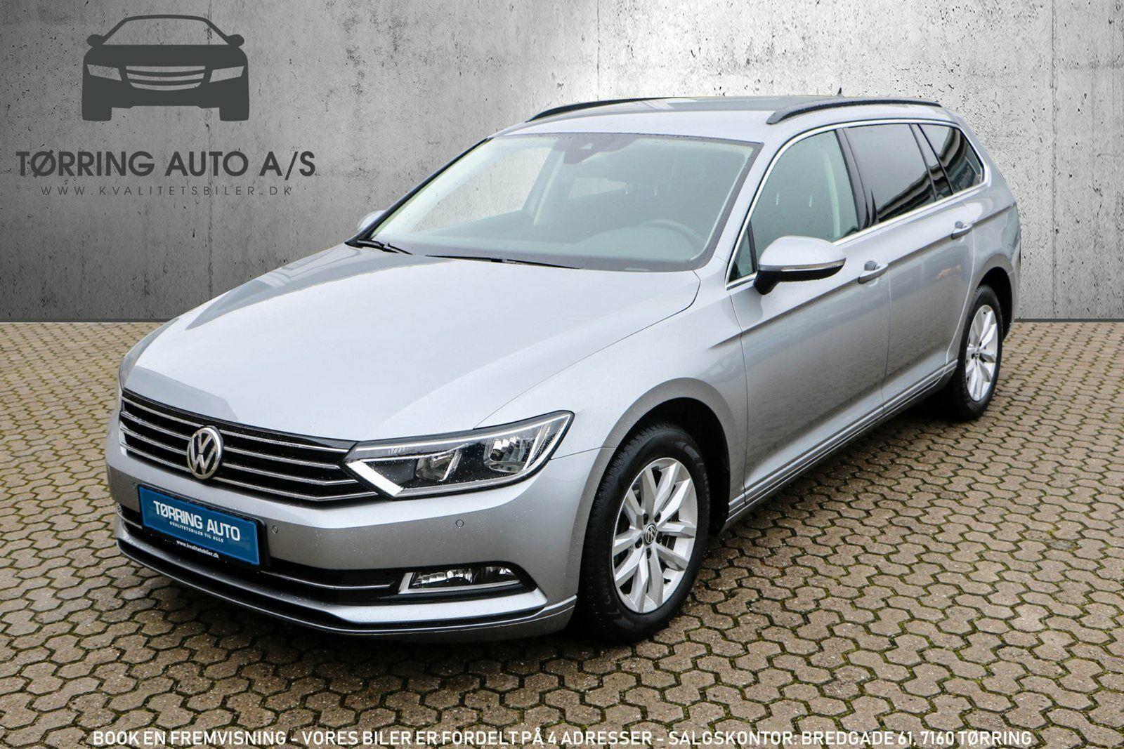 VW Passat 2,0 TDi 150 Comfort. Prem Vari DSG 5d - 339.900 kr.