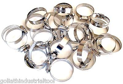 "2-3//4/"" SSHC234 51-70MM 50 GOLIATH INDUSTRIAL STAINLESS STEEL HOSE CLAMPS 2/"""