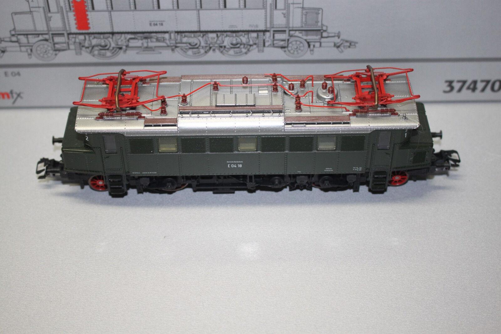 Märklin 37470 mfx Digital Elok Baureihe E04 18 DB Spur H0 OVP