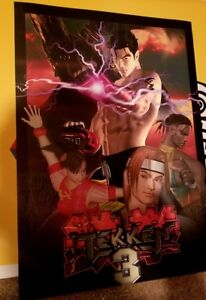 Details about Tekken 3 arcade side art set