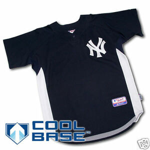 separation shoes d3e40 0741c Details about New York Yankees BP Jersey Size XL Baseball MLB NWT 09