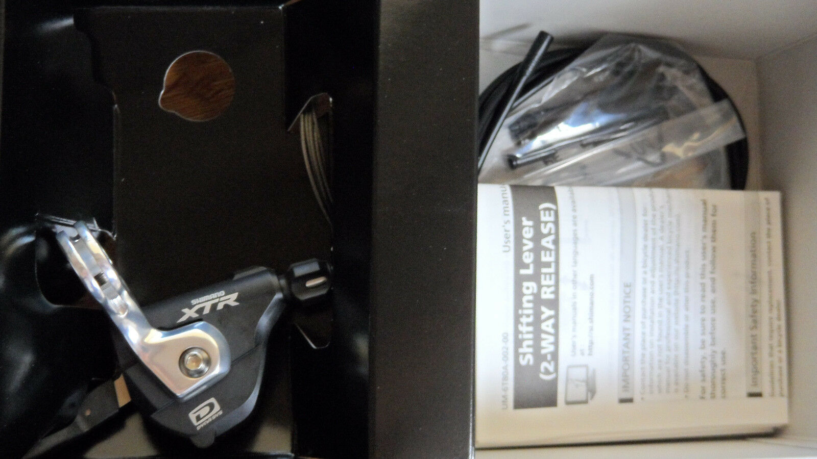 XTR SL-M980 10-SPD SHIMANO  SHIFTER FACTORY FRESH NEW IN BOX W  ALL ACCESSORIES  choices with low price