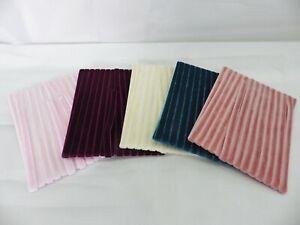 5 metres x 6mm  Velvet Ribbon: Select from 5 colourways