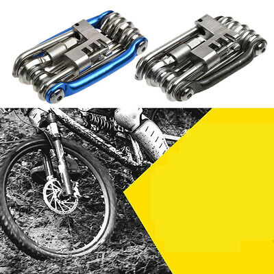 11 in 1 Bicycle Tools Sets Bike Multi Repair Kit Hex Spoke Wrench Screwdriver