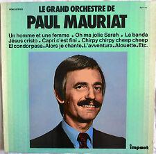 """PAUL MAURIAT - LP """"UN HOMME ET UNE FEMME"""" - IMPACT"""