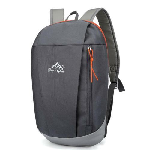 Grey 1pc Waterproof Backpack Large Capacity Wear Resistant Hiking Bag L/&6
