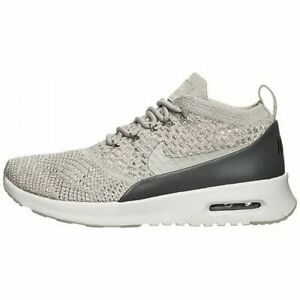 4e4d8faa3c Womens Nike Air Max Thea Flyknit Sneakers New, Pale Gray / Shimmer ...