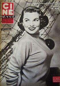 Cinema-Cine-Rivista-N-4-di-1954-Joanne-Dru-Blier-Pier-Angeli-039-Ottieni-Ta-Pelle
