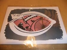 THE PRISONER 1966 PRODUCTION CHRISTMAS CARD PATRICK MCGOOHAN PORTMERION ITC