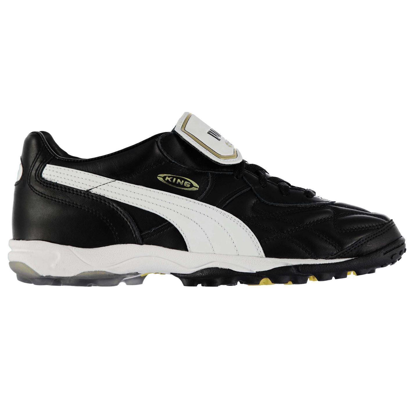 Puma King Allround Astro Turf Fútbol Zapatillas para hombre Negro blancoo Zapatos deportivos de fútbol