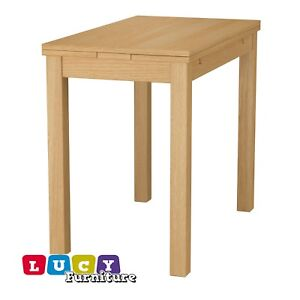 Tavolo Ikea Bjursta Allungabile.Ikea Bjursta Extendable Table Oak Veneer New Ebay