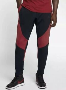 d31ab719af3e Nike Air Jordan Tech Fleece 879499 013 Black RedSweatpants Size ...