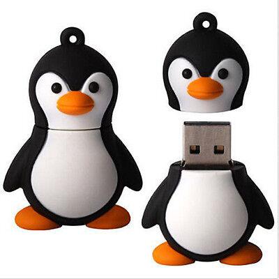 Wholesale 8GB Cute Adelie Penguin Model USB 2.0 Memory Flash Stick Pen Drive L04