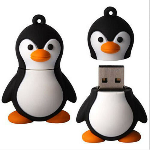 Wholesale 8GB Cute Adelie Penguin Model USB 2.0 Memory Flash Stick Pen Drive L04