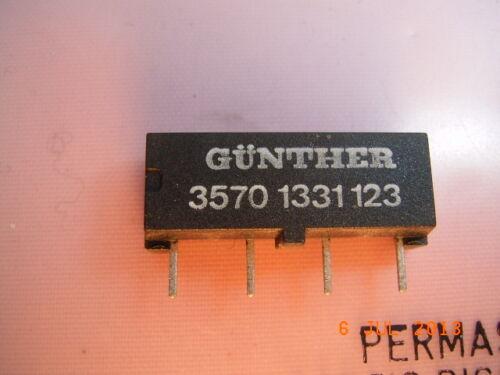 35701331123 GÜNTHER Reedrelais 35701331123 12V 1xSchließer SIL-4