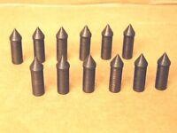 2114 Aluminum Arrow Glue-in Target Points - 70 Gr. - Dozen