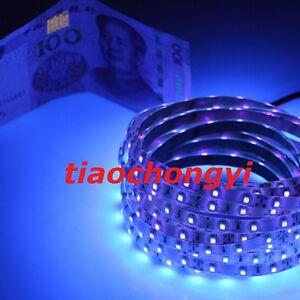 1M-12V-3528-395nm-UV-Ultraviolet-60led-Strip-white-tape-light-waterproof-IP65
