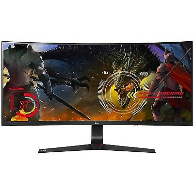 """LG 34UC89G-B 34"""" 21:9 Curved UltraWide WFHD (2560x1080) Gaming Monitor with G-Sy"""