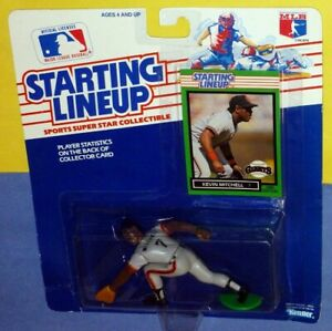 1989 KEVIN MITCHELL San Francisco Giants Rookie *FREE_s/h* Starting Lineup