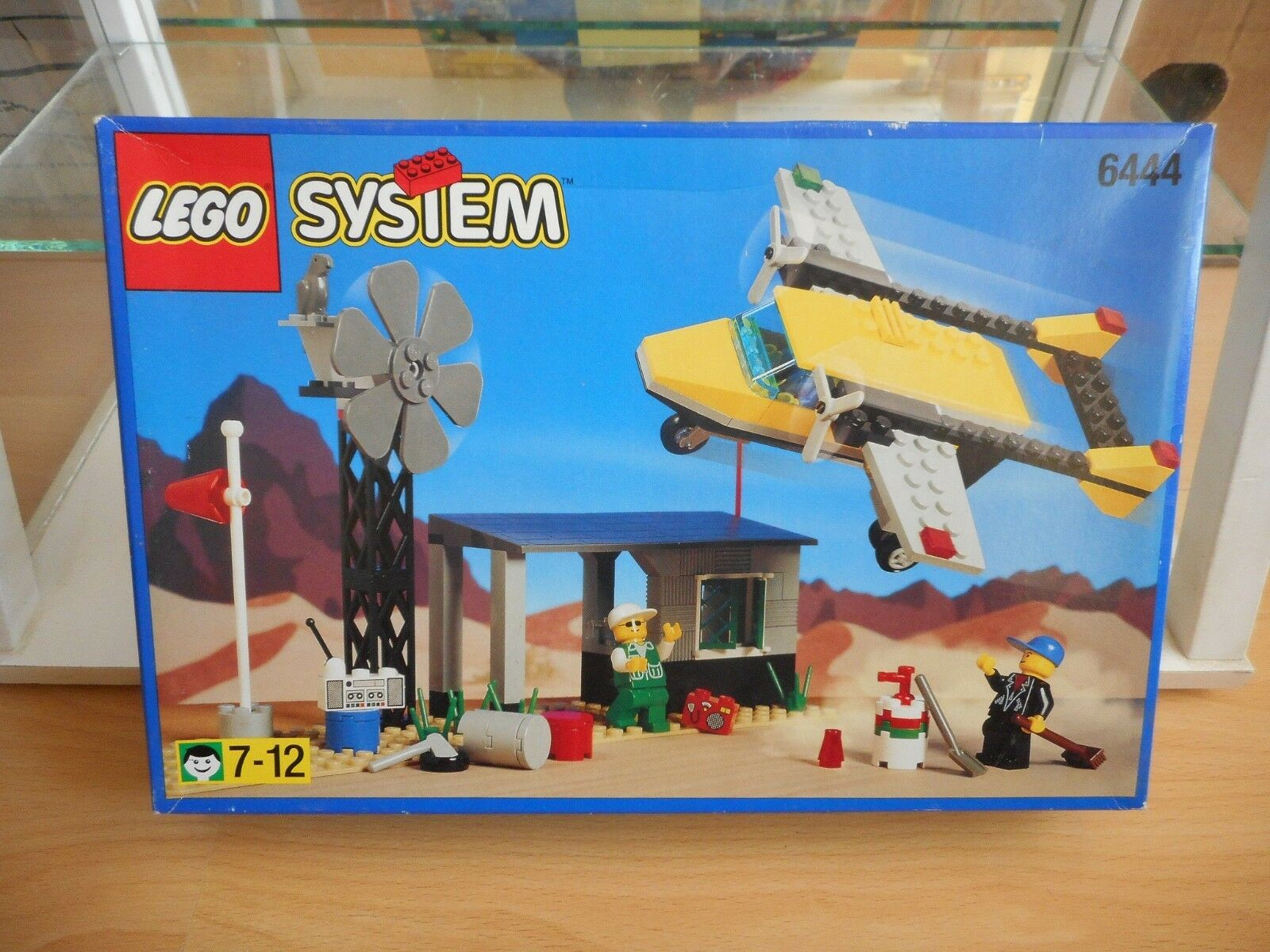 Lego System Dessert Airstrip in Box Unopened Sealed (Lego nr  6444)