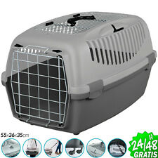 Transportin Nomade para Perros Gatos Hurones Mascotas 8KG Europeo 55x36x35 cm
