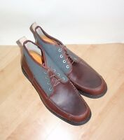 Timberland Mens Earthkeepers City Chukka Brown Leather Laced Boots Size 10.5
