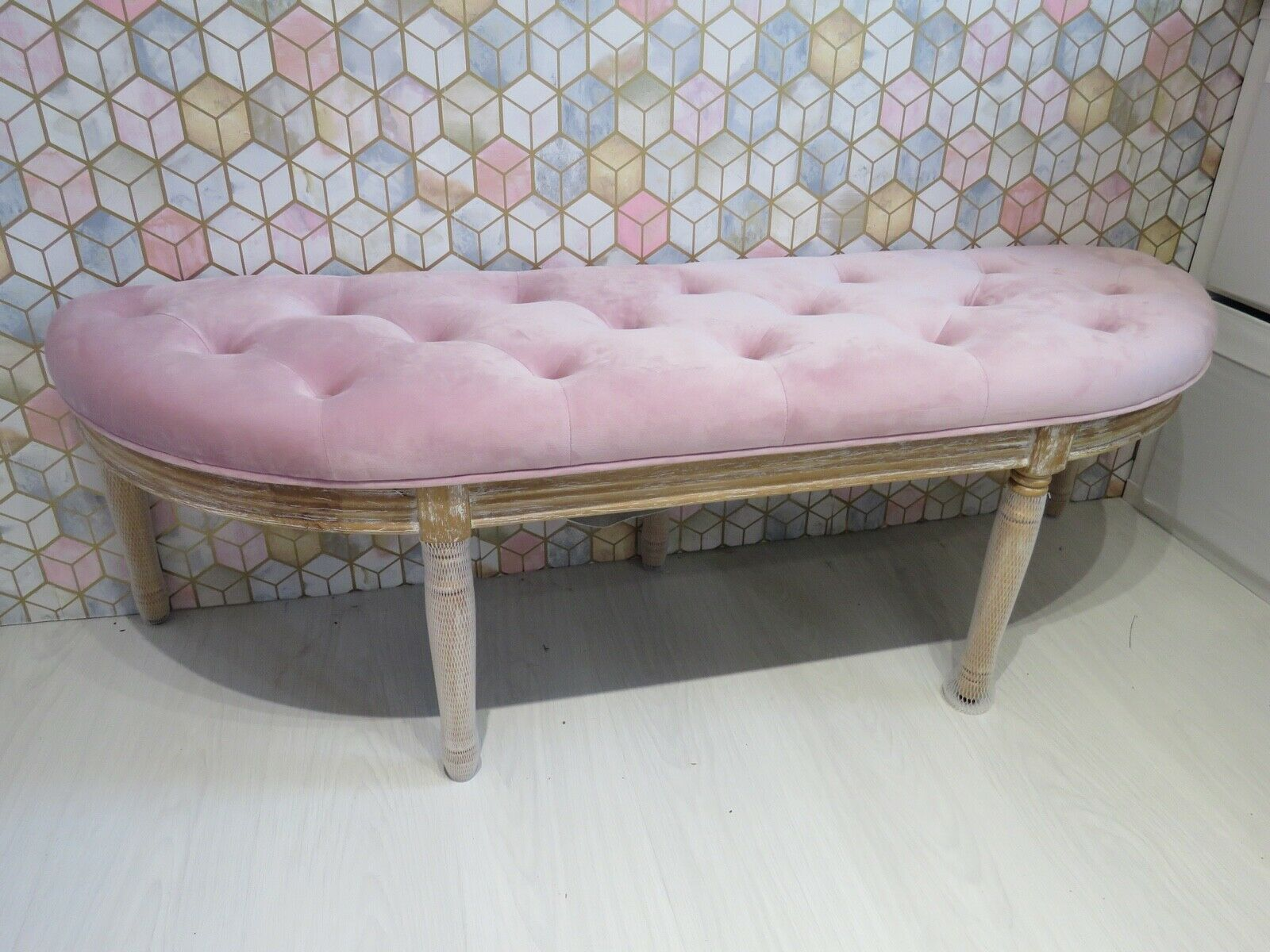 Seating Bench Long Beach 100 Cm Padded Bench Hall Bank Bench Seat Stool For Sale Ebay