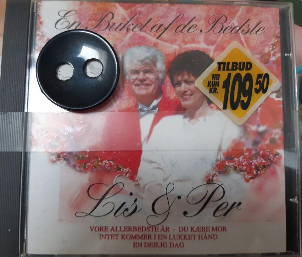 Lis og Per: En buket af de bedste, pop