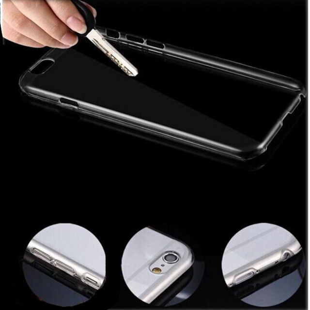 """New Ultra Thin Clear Transparent Crystal Hard Back Case Cover For iPhone 6 4.7"""""""