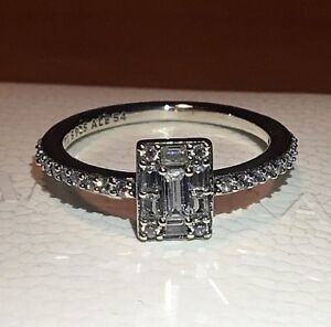 a6713be02 PANDORA LUMINOUS ICE RING 197541CZ , S925 ALE, STERLING SILVER, ALL ...