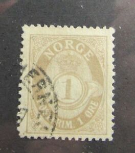 Europe Stamps C1900 Norway Sc #47 Used Stamp Moderate Price