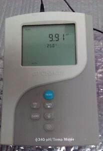BECKMAN-340-pH-TEMP-TEMPERATURE-METER-UNIT-P-N-511210