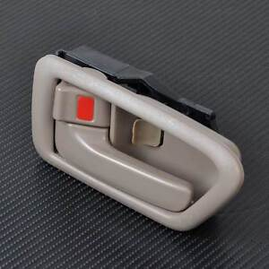 Image is loading NEW-OEM-Tan-Left-Inside-Door-Bezel-Handle- & NEW OEM Tan Left Inside Door Bezel Handle for 97-01 Toyota Camry ... pezcame.com