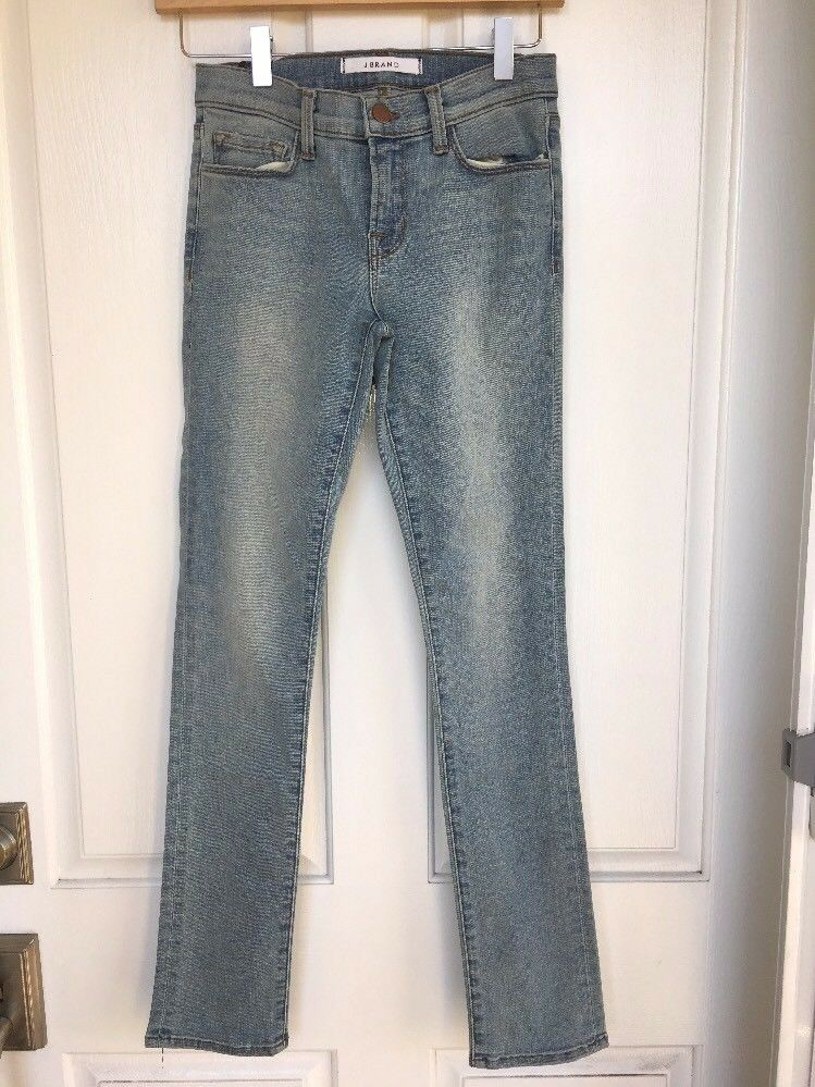 NWOT  Nordstrom J BRAND Low-Rise Light bluee Skinny Ankle Jeans, Size 25