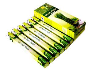 6 Box//Pack 120 Sticks total Sandal Wood Sreevani Quality Incense Stick Fragrance