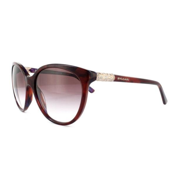 184fc3aaeca0 Bvlgari Sunglasses 8147B 52708H Top Red on Marble Violet Violet Gradient