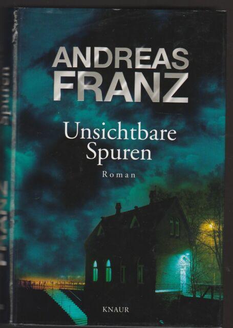 Unsichtbare Spuren - Andreas Franz - Mord an Anhalterin in Norddeutschland - geb