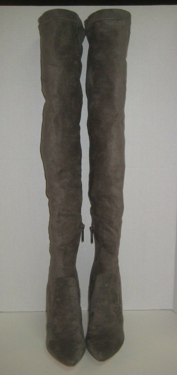 JOIE JEMINA OVER THE KNEE SUEDE BOOTS BOOTS BOOTS OLIVE BROWN SIZE 36   6 3665fe