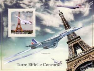AIR-FRANCE-et-British-Airways-BA-Concorde-TOUR-EIFFEL-AVION-STAMP-SHEET-2