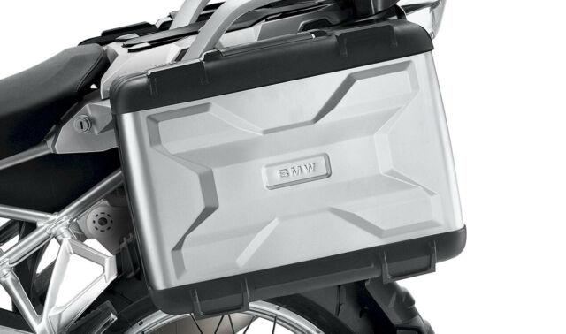 Original BMW Moto Ensemble de Valises Vario Argent, R1200GS, R1250GS,