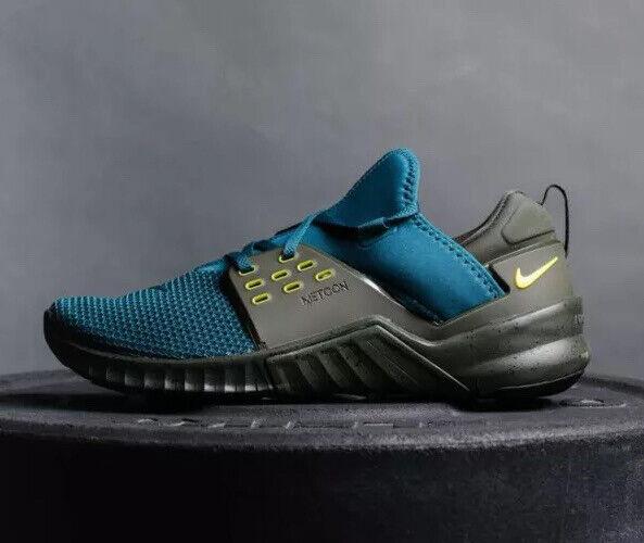 "Nike Free Metcon 2 ""ightshade"" Aq8306-300 Taille Uk 10 Eu 45 Us 11 New"