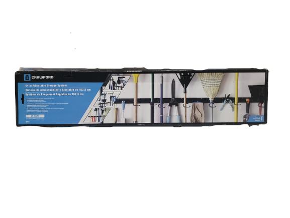 64-Inch Crawford-Lehigh Crawford SR64 Smart Rack Adjustable Storage System