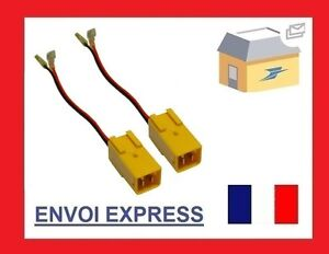 2-Cables-enceinte-haut-parleur-Alfa-romeo-Citroen-Fiat-Lancia-Peugeot