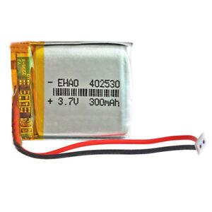 BATERIA-402530-LiPo-3-7V-300mAh-Conector-JST-PH-2-00mm-2-Pins-mp4-GPS-bluetooth
