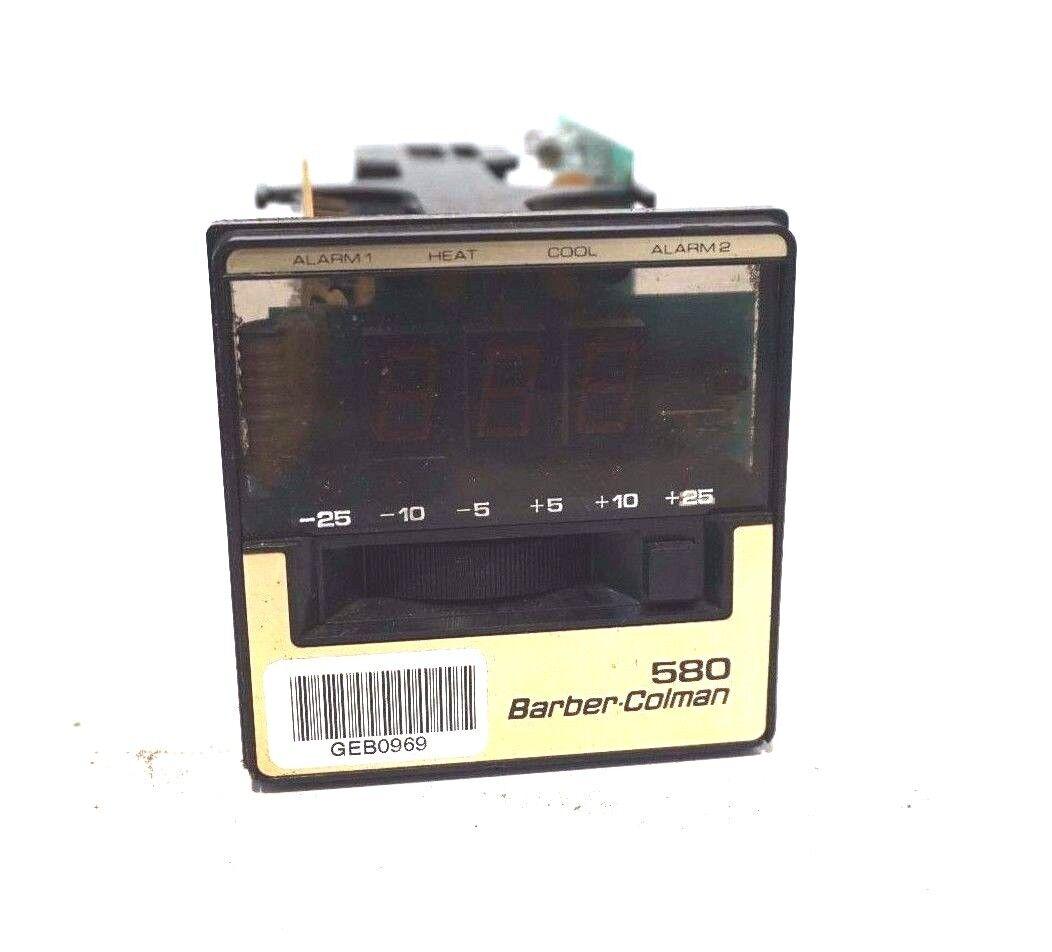 Utiliza Control Barber Colman 585A-00016-000-0-00 585A00016000000 Control Utiliza De Temperatura 49d73c