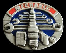 Garage Mechanic Truck Motor Engine Tools Belt Buckle Boucle de Ceintures