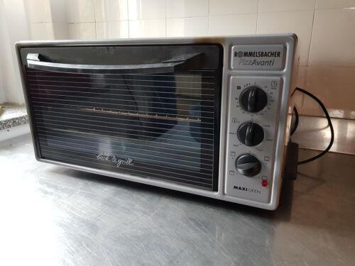 Rommelsbacher Elektro Backofen PizzAvanti MAXI Ofen BG1600 mit Pizzastein