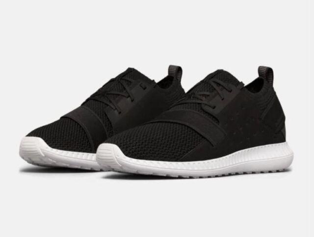 reputable site 6a16b 268e3 Under Armour Men's Threadborne Shift Shoes Sz 10 Black White Sneaker 1302504