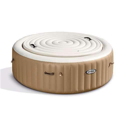 Used Intex 4 Person Round Energy Efficient PureSpa Spa Cover